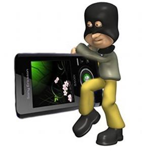 Il ladro di cellulari