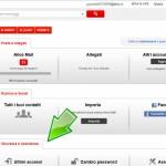 Elenco degli ultimi accessi alla webmail Telecom Alice
